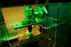 hoe werkt een 3d printer